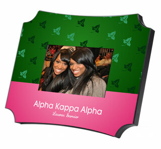 Alpha Kappa Alpha Two Tone Mascot Picture Frame