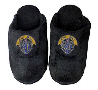 Chi Phi Black Solid Slipper