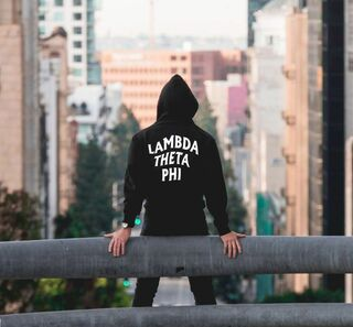 Lambda Theta Phi Social Hooded Sweatshirt
