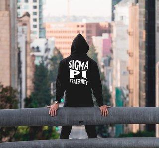 Sigma Pi Social Hooded Sweatshirt