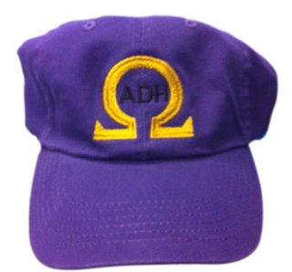 Omega Initials Baseball Hat