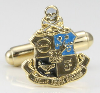 Phi Kappa Sigma Color Crest - Shield Cuff links