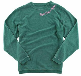 Alpha Kappa Alpha Corded Pullover