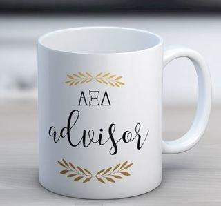 Alpha Xi Delta Advisor Coffee Mug