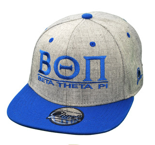 Beta Theta Pi Flatbill Snapback Hats Original