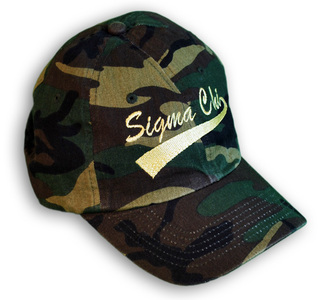 Fraternity & Sorority Greek Tail Camouflage Hat