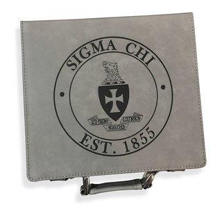 Sigma Chi Poker Chip Set