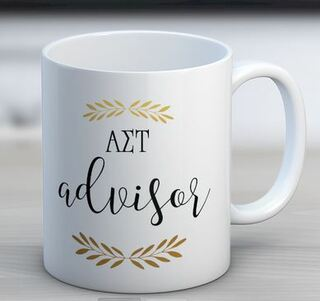 Alpha Sigma Tau Advisor Coffee Mug