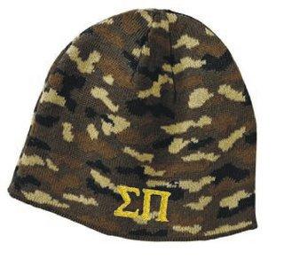 Greek Military Camouflage Beanie Cap
