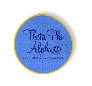 Theta Phi Alpha Mascot Round Decals