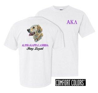 Alpha Kappa Lambda Stay Loyal Comfort Colors T-Shirt