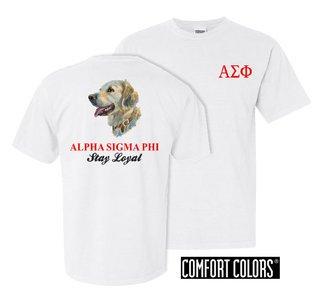 Alpha Sigma Phi Stay Loyal Comfort Colors T-Shirt
