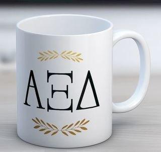 Alpha Xi Delta Letter Coffee Mug