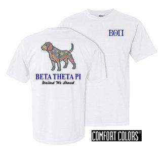 Beta Theta Pi United We Stand Comfort Colors T-Shirt