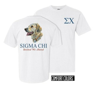 Fraternity Stay Loyal Comfort Colors Tee