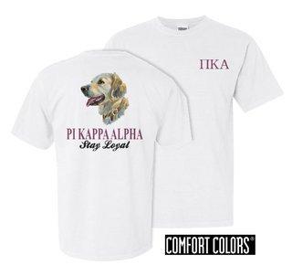 Pi Kappa Alpha Stay Loyal Comfort Colors T-Shirt