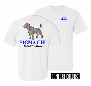 Sigma Chi United We Stand Comfort Colors T-Shirt