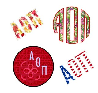 Alpha Omicron Pi Sticker Grab Bag