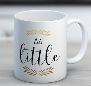 Delta Zeta Little Coffee Mug