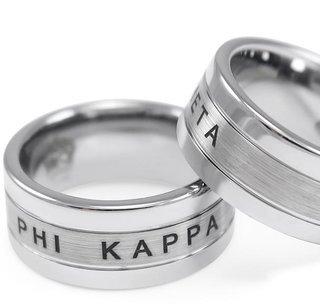 Phi Kappa Theta Tungsten Ring