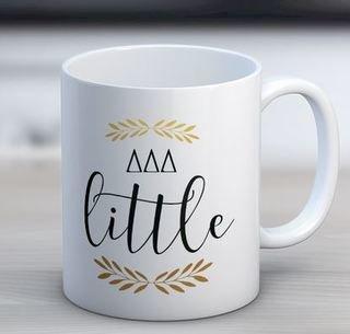 Delta Delta Delta Little Coffee Mug