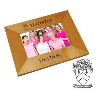 Gamma Sigma Sigma Alumna Crest - Shield Frame