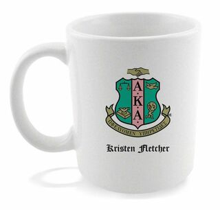 Alpha Kappa Alpha Coffee Mug