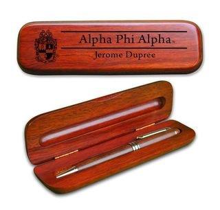 Alpha Phi Alpha Wooden Pen Set