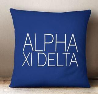 Alpha Xi Delta Simple Pillow