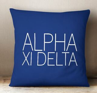 Alpha Xi Delta Simple Pillow