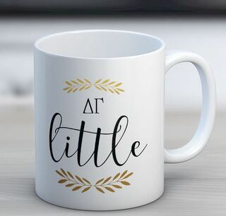 Delta Gamma Little Coffee Mug