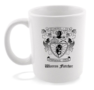 Lambda Phi Epsilon Crest - Shield Coffee Mug