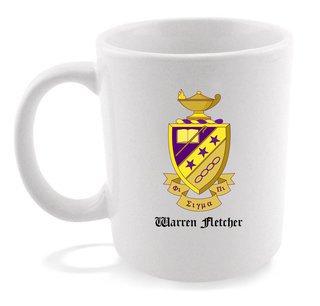 Phi Sigma Pi Crest - Shield Coffee Mug