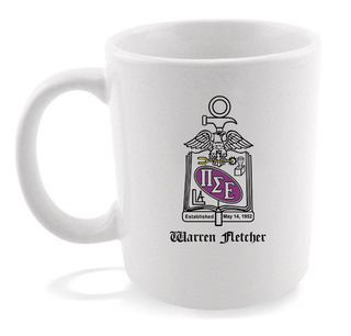 Pi Sigma Epsilon Crest - Shield Coffee Mug