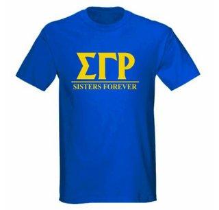 Sigma Gamma Rho Message T-Shirts