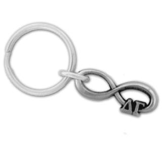 Delta Gamma Infinity Key Ring