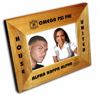 House United Greek Picture Frame