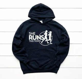 She Runs This Town World Famous $30 Hoodie