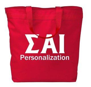 Sigma Alpha Iota Design Your Own Tote Bag