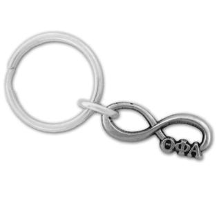 Theta Phi Alpha Infinity Key Ring