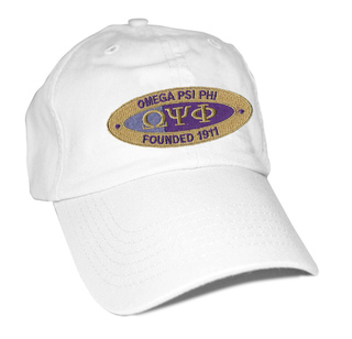 DISCOUNT-Omega Psi Phi Hat - Oval