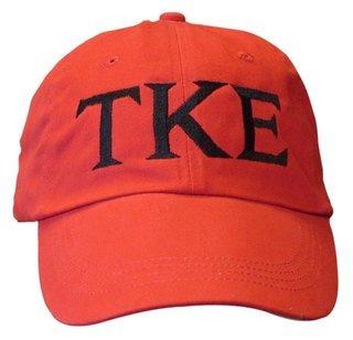 Tau Kappa Epsilon Letter Hats