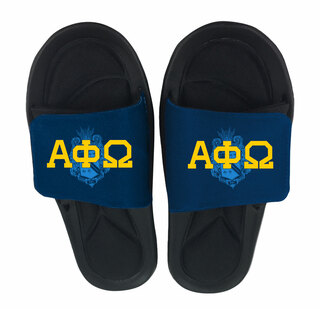Alpha Phi Omega Slide On Sandals