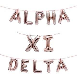 Alpha Xi Delta Banner Balloon Set