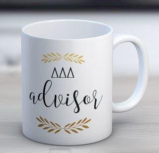 Delta Delta Delta Advisor Coffee Mug