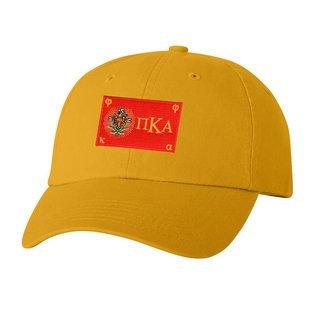 CLOSEOUT - Pi Kappa Alpha Flag Patch Baseball Hat