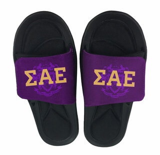 Sigma Alpha Epsilon Slide On Sandals