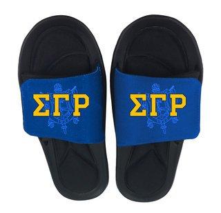 29cf8fbfe683 Sigma Gamma Rho Flip Flops   Slippers - Greek Clothing - Greek Gear