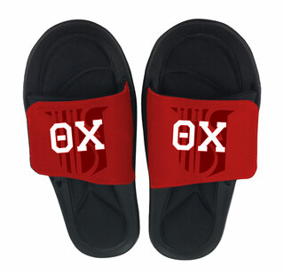 Theta Chi Slide On Sandals