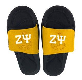 Zeta Psi Slide On Sandals